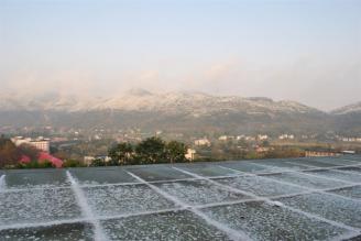 校园雪景六